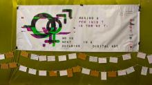 Making a Feminist internet banner